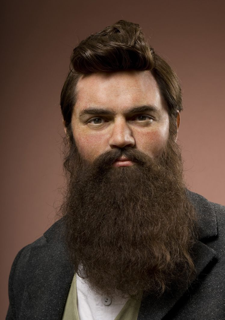 Ned Kelly Madame Tussauds Wax This Hairstyle And Beard Is Back