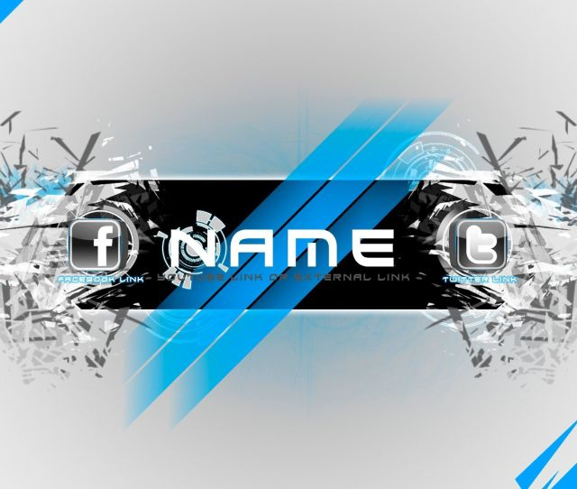 Free To Use Channel Art Template Elegant Shatter Youtube