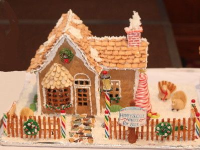 Intricate Gingerbread Houses Are On Display For Delight And