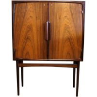 Danish Modern Bar Cabinet - Home Design