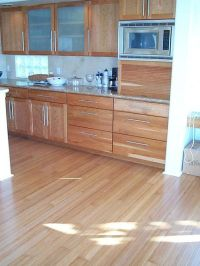 Bamboo flooring in kitchen YES PLEASE! | Dream Home Decor ...
