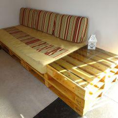 Sofa E Colchao Osasco Outdoor Wicker Cushion Set Sofá Com 4 Pallets 43 1 Pallet Adaptado Rodízios De