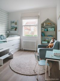 childrens interior design | scandinavian mint and blue ...