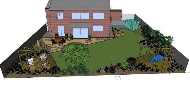 GDR002 0 640×297 Pixels Garden Plans Pinterest Gardens