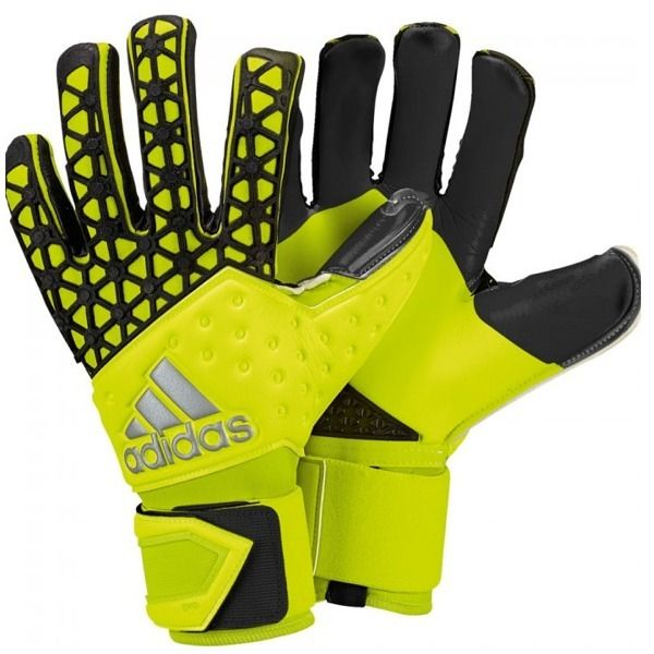 adidas ace zones pro yellow black goalkeeper gloves model s