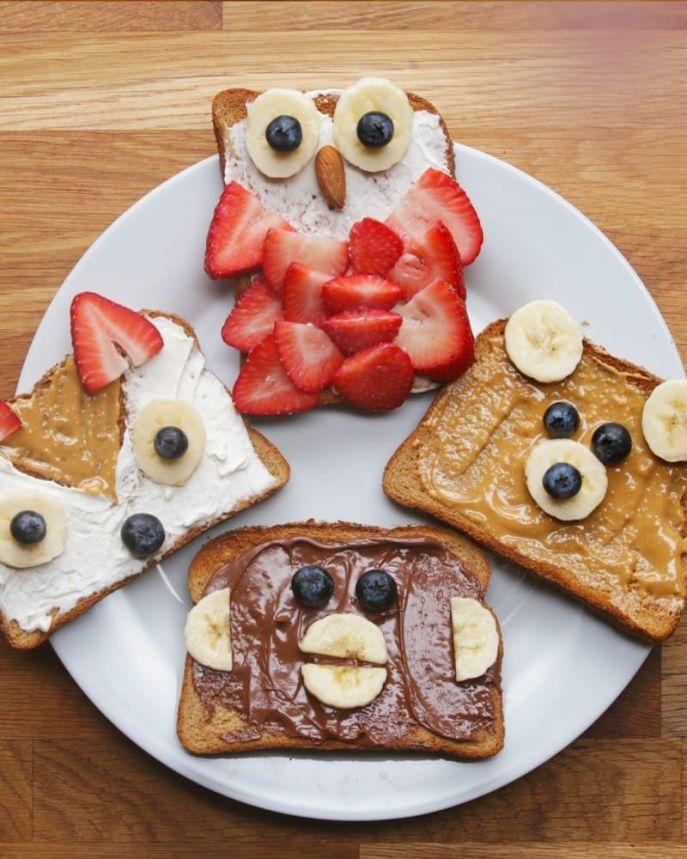 Resultado de imagen para animal toast
