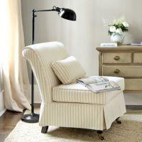 Leyland Armless Chair Slipcover | Living Room | Pinterest ...