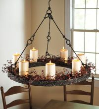 Hanging Candle Chandelier on Pinterest | Candle Chandelier ...