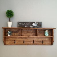 Rocky Mountain Series- Wall Mounted Coat Rack, Coat Rack ...