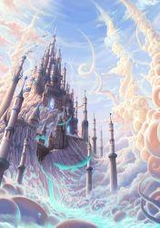 fantasy castle dream inspiration daily castles cloud medieval lost
