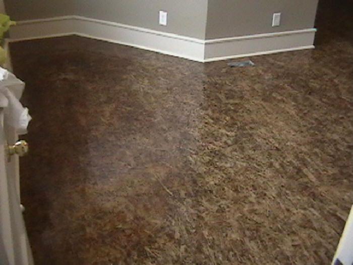 Painted Chipboard Floors