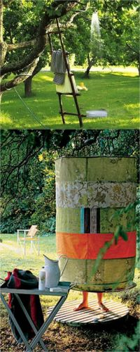 16 DIY Outdoor Shower Ideas | Shower fixtures, Creative ...