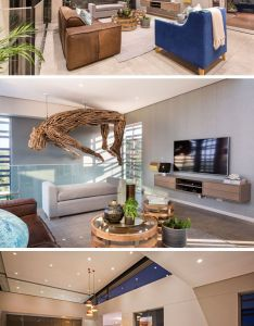 Stepping inside to the top floor of this modern home focal point also house in south africa was designed around an indoor swimming rh pinterest