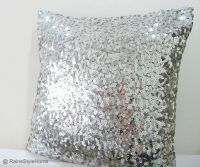 Silver sequence pillow- I need this pillow! | Everything ...