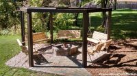 The Circle of Swings! This awesome backyard structure