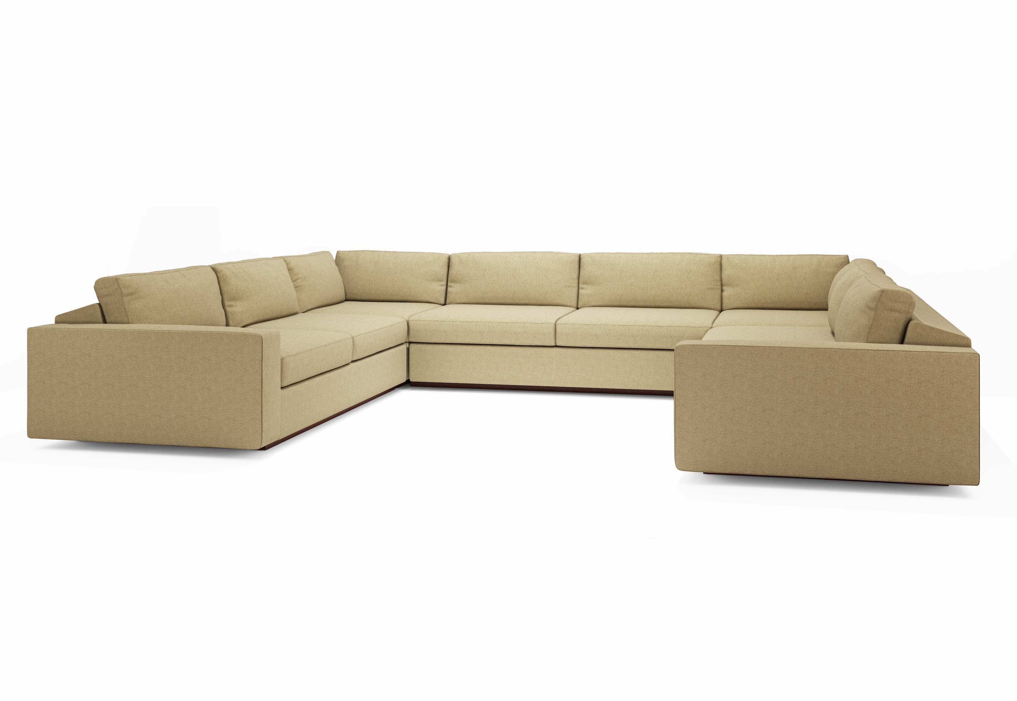 very large sectional sofas replacement sleeper sofa air mattress extra u shaped sectionals jackson quotu quot