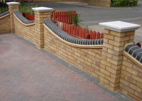 Outdoor Wall Designs Garden Walls Herb Garden Design UK