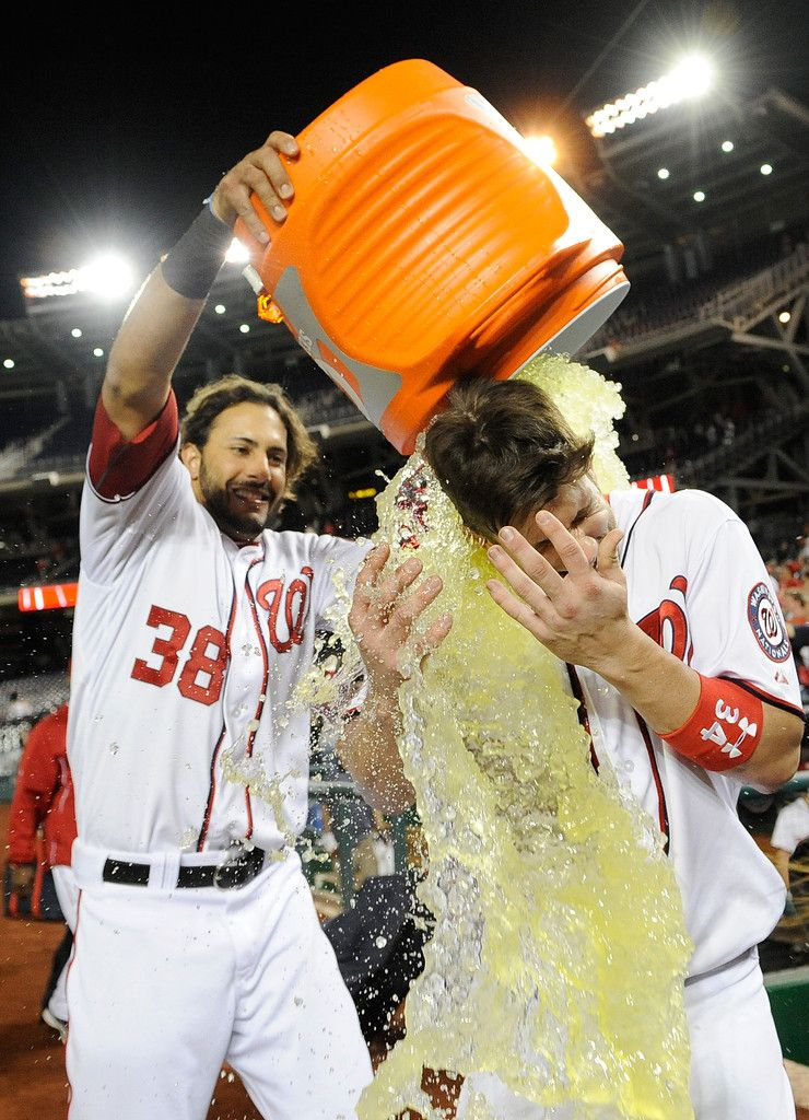 Bryce Harper And Michael Morse Photos Photos New York Mets V