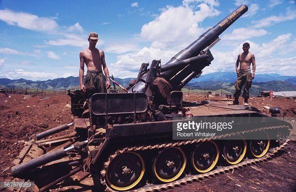 Artillery Field 1st Force Vietnam