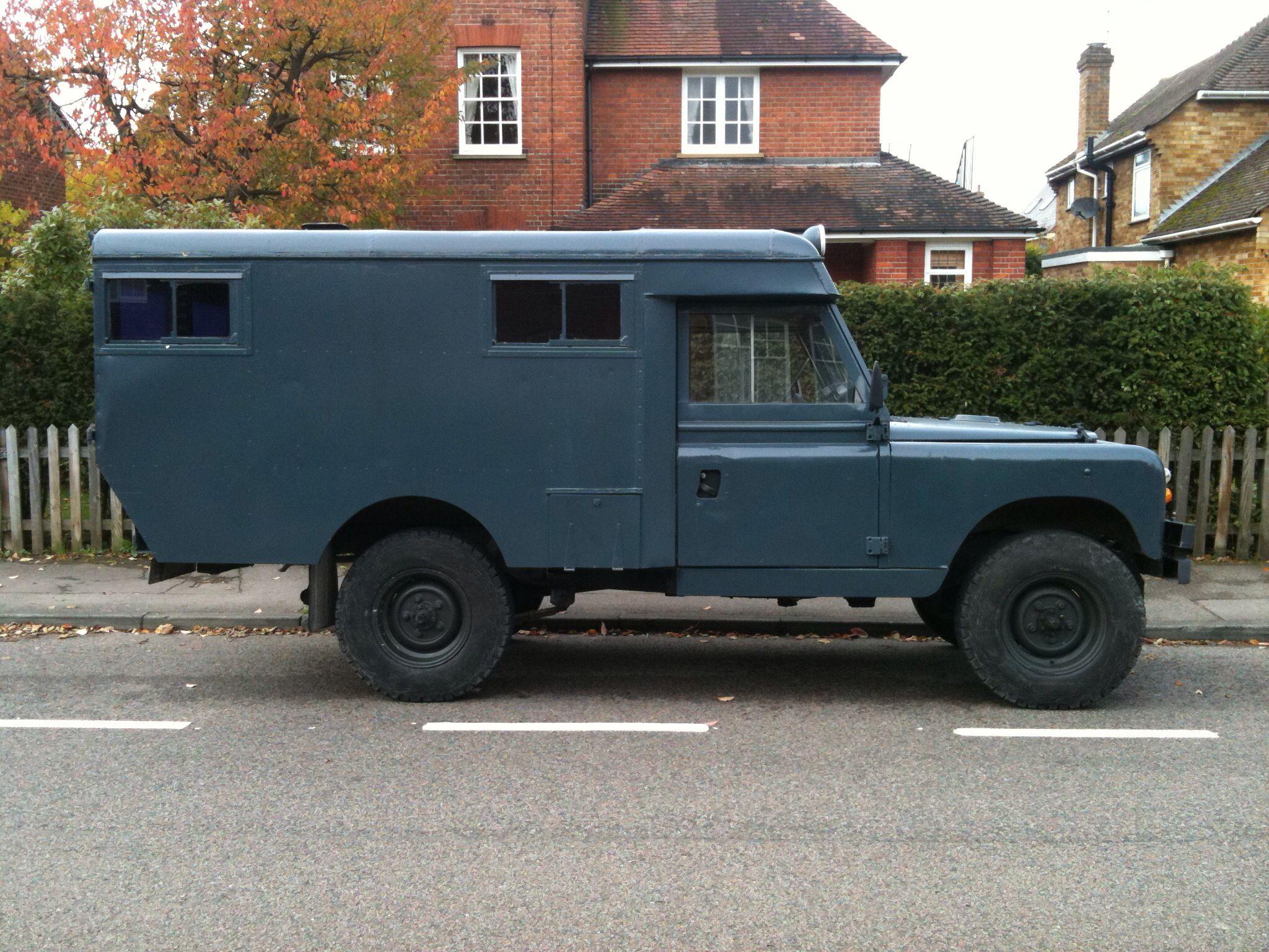 ◇1966 Series 2A Land Rover Ambulance◇ Maintenance restoration of