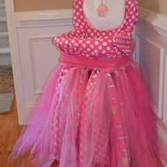 How To Make Chair Covers For A Party Balcony Chairs Walmart High That I Covered In Fabric And Tulle First