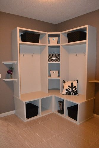 Ikea Mudroom Ideas on Pinterest