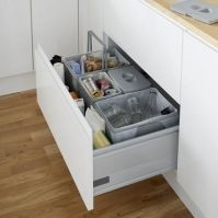 Trash Cans & Recycling Bins - Kitchen Trash Can Containers ...