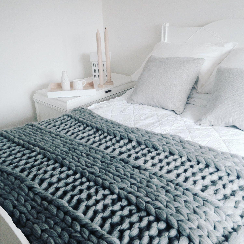 Blanket KNITTING KIT 40 x 60 Giant 40mm Knitting
