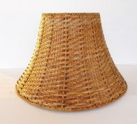 IKEA Wicker Lamp Shade Never Used Brown Natural Rattan # ...