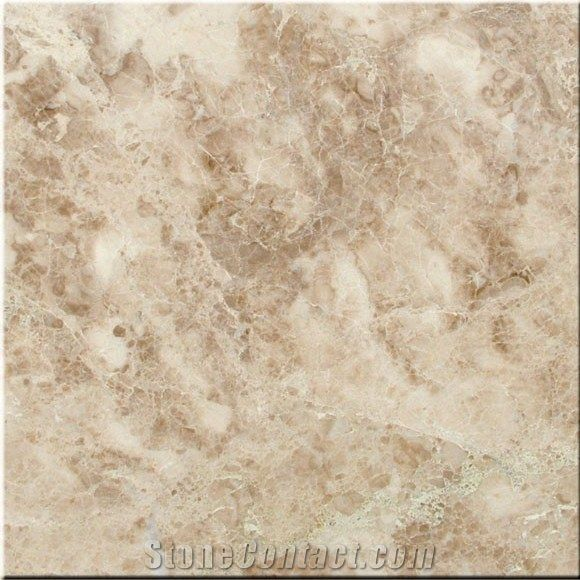 Troia Light Brown Beige Marble Tile and Floor
