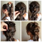 topsy tail hairstyles short