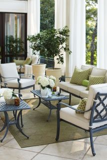 Ways Arrange Porch Two Furniture