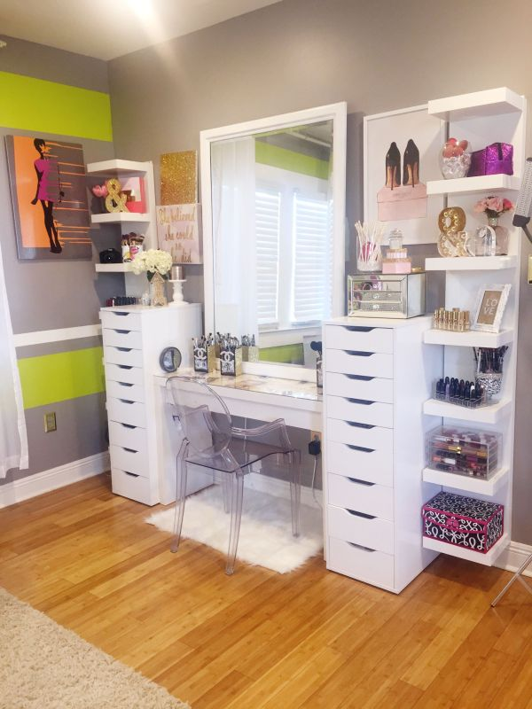 Makeup - Ikea Furniture Lot Of Diy Projects