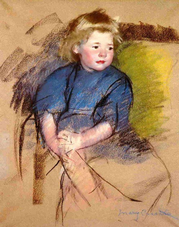 Mary Cassatt Portrait of a Young Girl