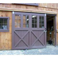 Sliding Barn Doorn with Glass