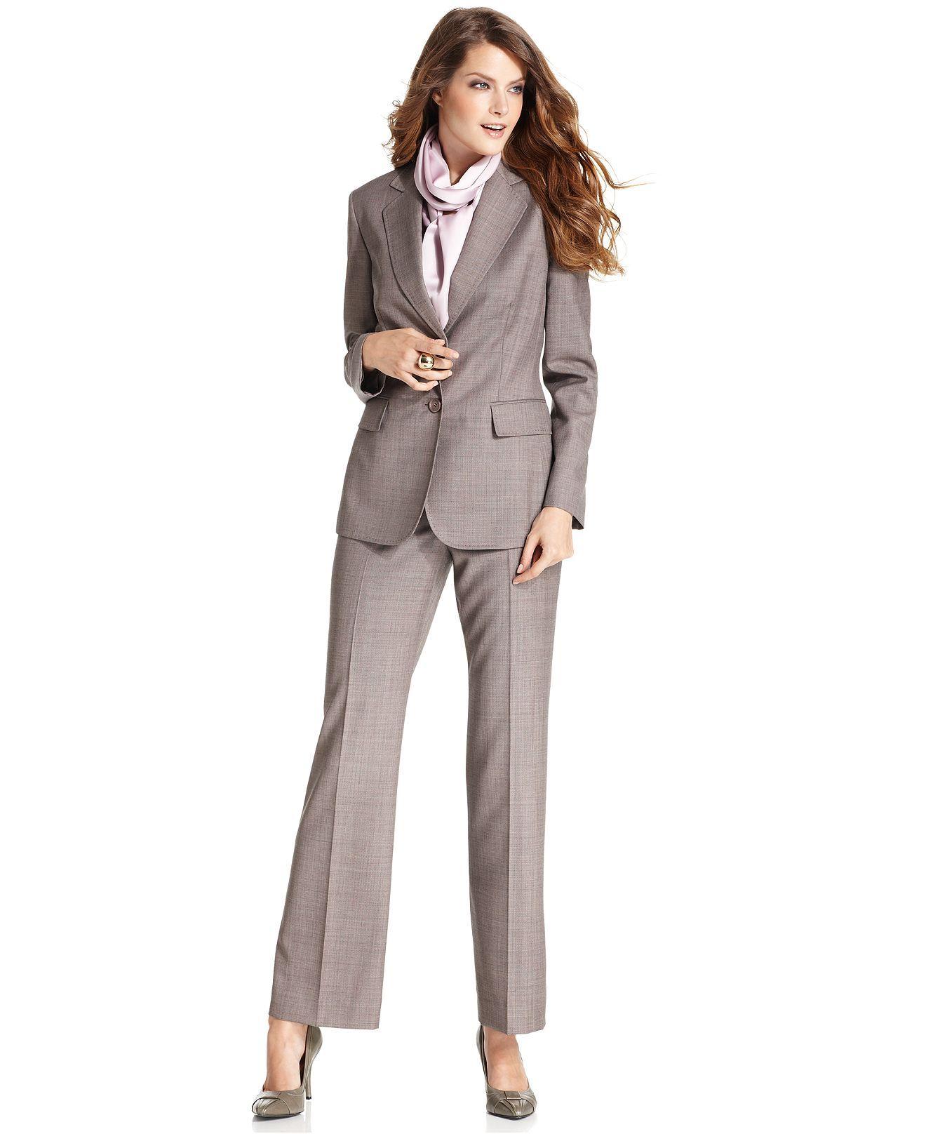 Katharine suit idea at Macy's