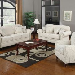 Capetown Sofa In Oatmeal Lazy Boy Leather Beds 2 Pc Norah Collection Linen Blend Fabric Upholstered And Love Seat Set With Nail