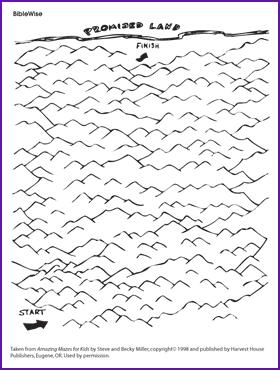 Maze, Journey through Wilderness (Moses)