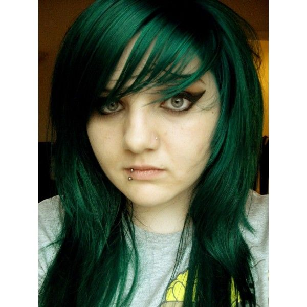 emerald green hair  Google Search  Hair and Makeup