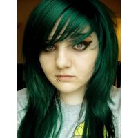 emerald green hair - Google Search | Hair and Makeup ...