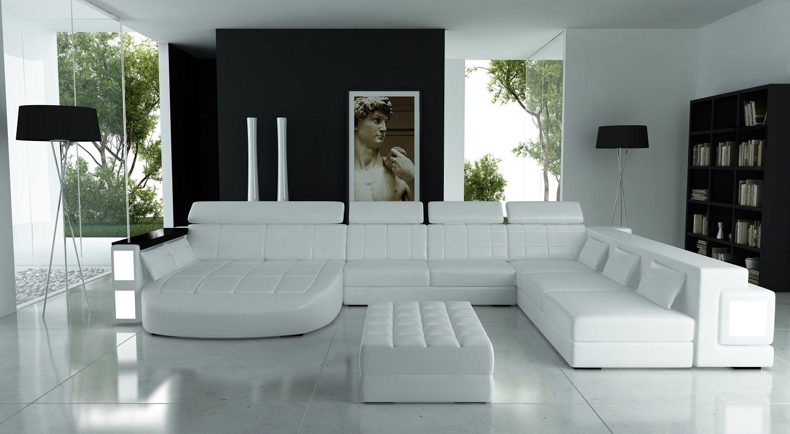 Hoekbank Design Leer.Lounge Design Hoekbank