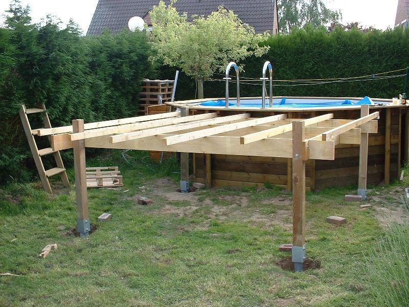 Piscines Spas Quelle Structure Support Pour Terrasse En Bois Surelevee Forums