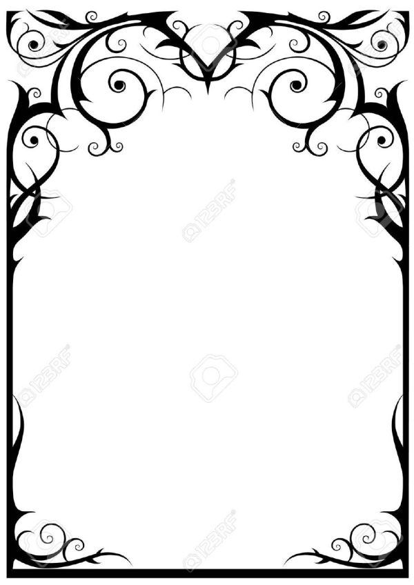 9813451-fantasy-frame-with-space-text-stock-vector