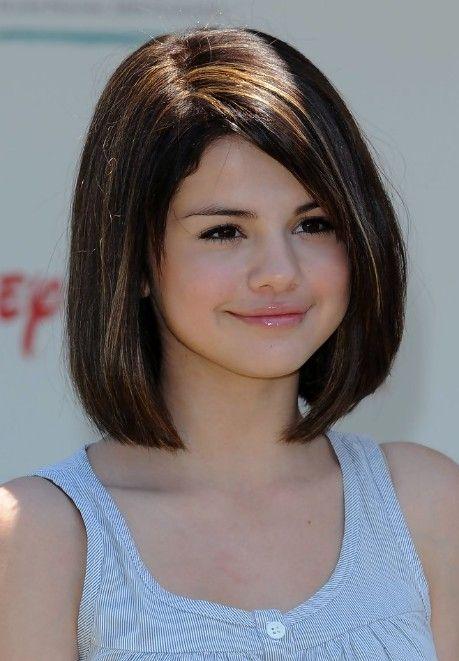 Selena Gomez Short Hair Styles Cute Bob Haircut For Girls Bobs
