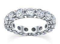 settings for diamond wedding bands | Diamond eternity ...