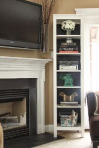 tips for hanging the TV above the fireplace | Our New Home ...