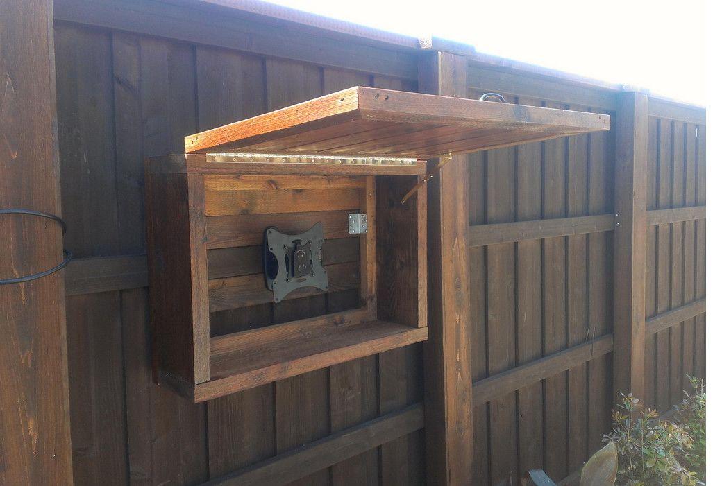 Build Outdoor Tv Cabinet