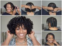 Easy Chunky Flat Twist-Out Tutorial for Natural Hair ...