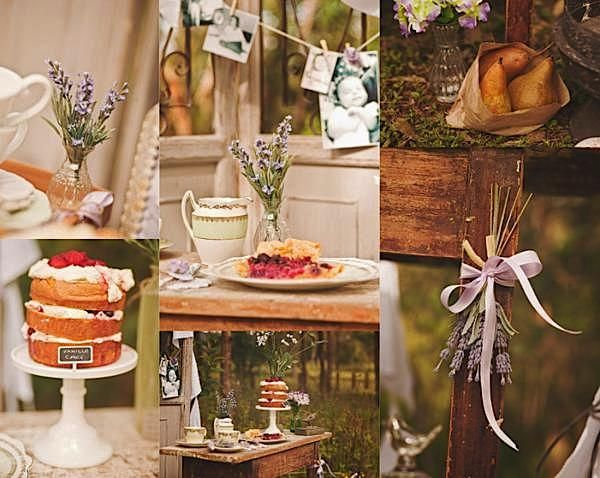 Inspiration For A Vintage Mother's Day Brunch Tea Party