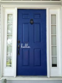 5 Fantastic Before-And-After Front Door Makeovers | Blue ...